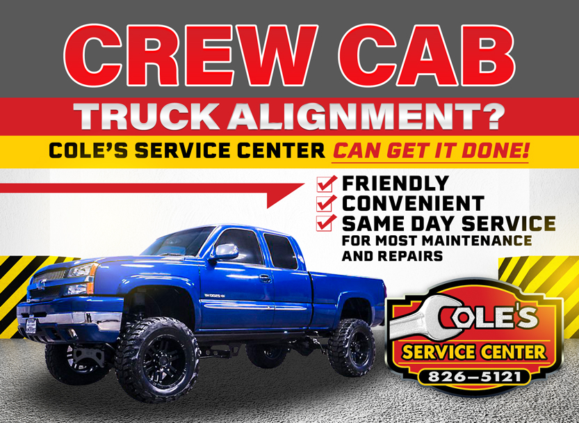 Crew Cab Truck Alignment